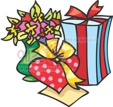 하트,선물,선물포장,사랑,꽃,꽃병,리본,발렌타인데이,화이트데이
