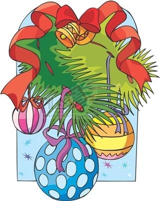 크리스마스장식,종,리본,성탄절,전구