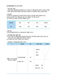 목표관리 평가표(업무성과 평가표) - 섬네일 3page