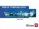 [미래산업] 해외 기업설명회 IR 자료