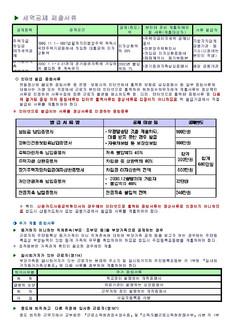 소득공제/세액공제 제출서류 - 섬네일 3page