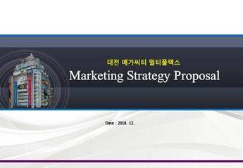 대전 메가시티 마케팅 제안서