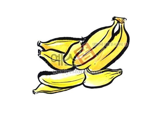 미리보기: 바나나2 - 손글씨 > 캘리그라피 > 동/식물