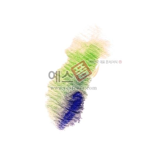 미리보기: 칼라번짐22 - 손글씨 > 캘리그라피 > 붓터치