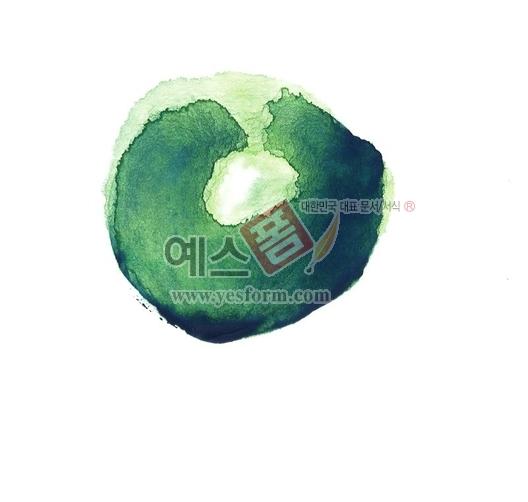 미리보기: 칼라번짐96 - 손글씨 > 캘리그라피 > 붓터치