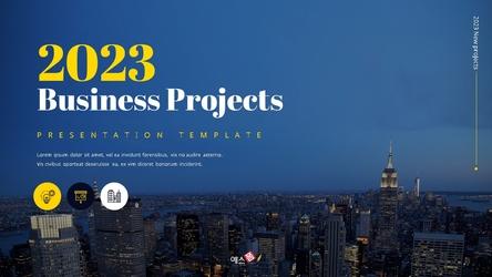 2021 Business Projects(비즈니스 프로젝트) 템플릿