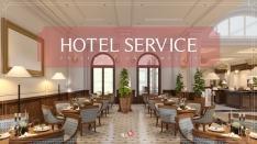 호텔 서비스(Hotel Service) PPT 템플릿