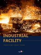 산업 시설 세로형 ppt template