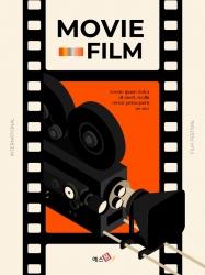 영화와 필름 테마 세로형 템플릿