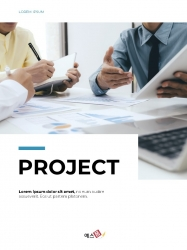 Clean Layout 비즈니스 프로젝트 세로형