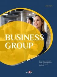 Creative Business Group 파워포인트 세로형 PPT